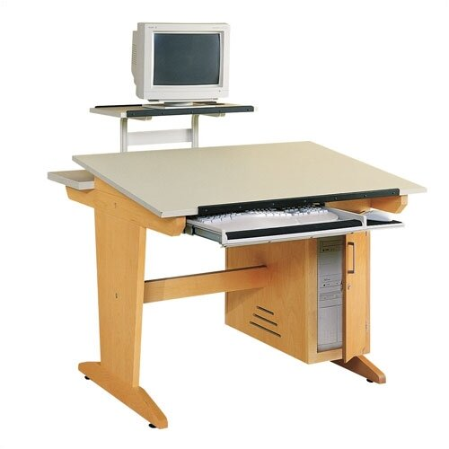 "Shain Computer Aided Design 42""W x 39""D Drafting Table"