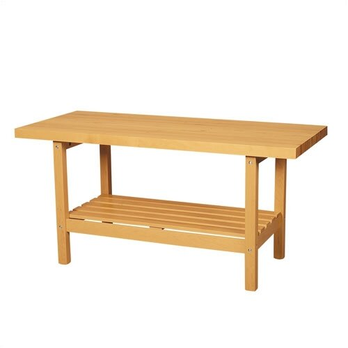 Shain Two Station Wooden Top Workbench