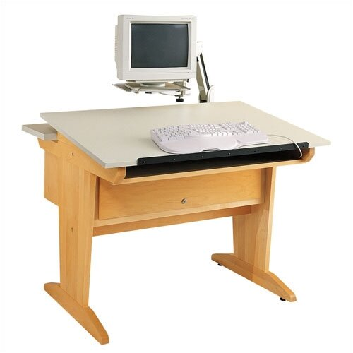 Shain Desktop Computer Aided Design Drafting Table