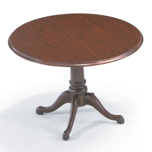 "ABCO 42"" Diameter Round Top Traditional Gathering Table"