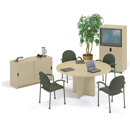 "ABCO Self Edge 60"" Round Gathering Table"