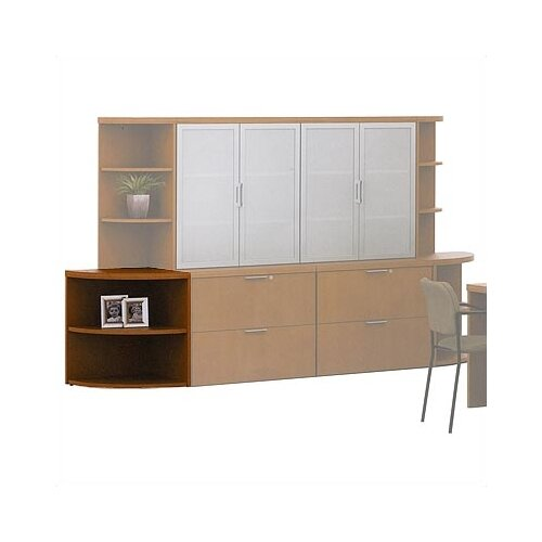 "ABCO Unity Executive Series 29"" Bookcase"