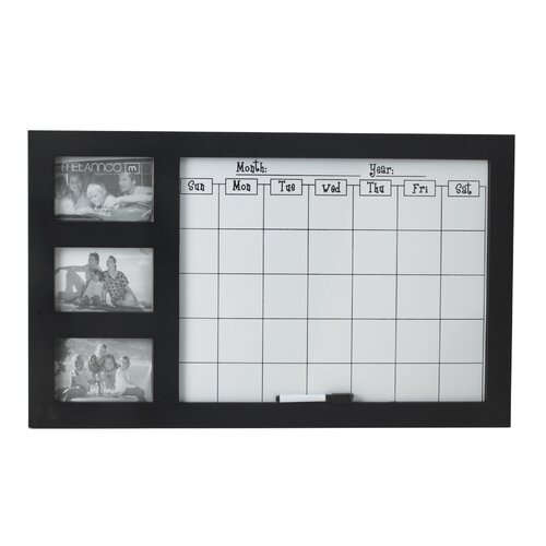 "Melannco Command Calendar 1' 4.46"" x 2' 3.13"" Whiteboard"