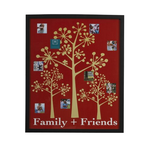 9 Opening Family and Friends Collage Picture Frame