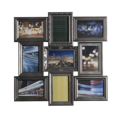 9 Opening Multi-Profile Collage Picture Frame