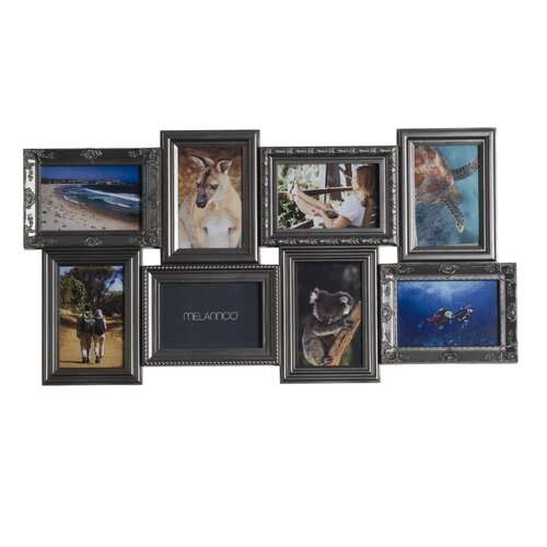 8 Opening Multi-Profile Collage Picture Frame