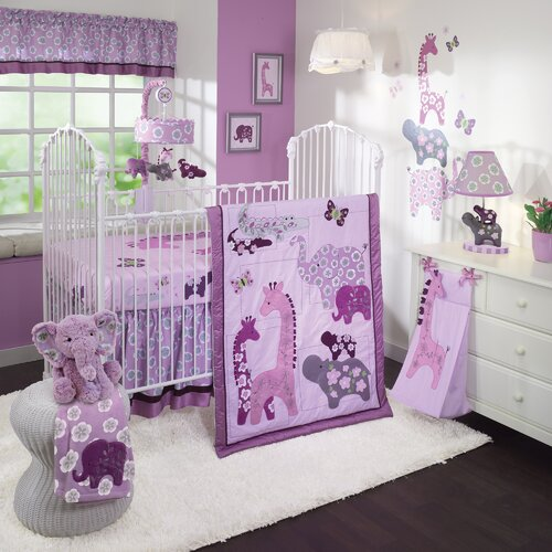 Lavender Jungle 4 Piece Bedding Set