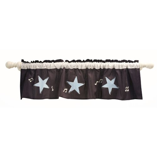 "Lambs & Ivy Rock 'N Roll 60"" Curtain Valance"