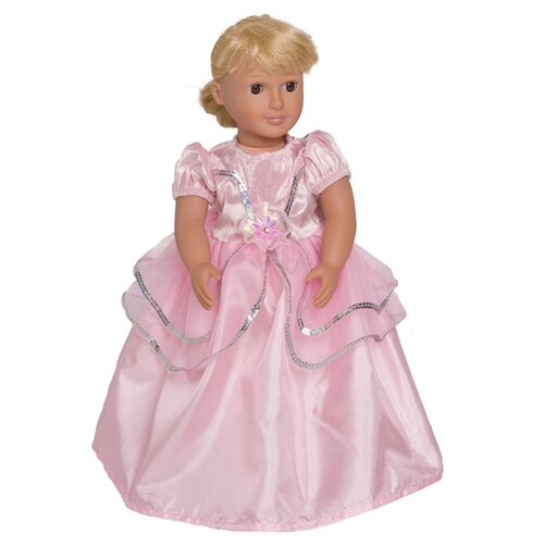 Royal Princess Doll Dress