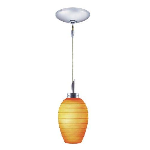 Jesco Lighting Chelsea 1 Light Pendant and Canopy Kit