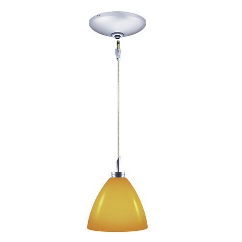 Dora 1 Light Pendant and Canopy Kit