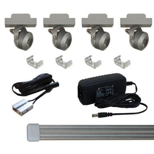solaris led miniature track light kit wayfair. Black Bedroom Furniture Sets. Home Design Ideas