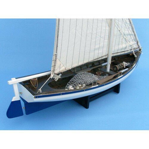 Handcrafted Model Ships Summer Wind Fishing Model Boat