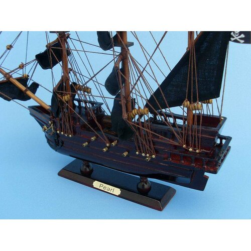 Handcrafted Model Ships Edward England's Pearl Pirate Model Ship