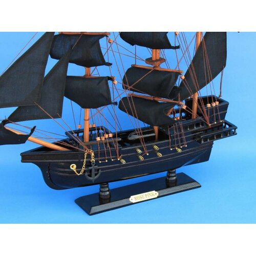 Handcrafted Model Ships Ed Low's Rose Pirate Model Ship