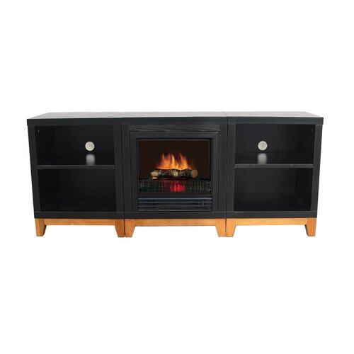 Hollywood Modular Electric Fireplace (Set of 3)