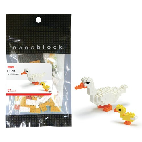 nanoblock Mini Duck Building Blocks