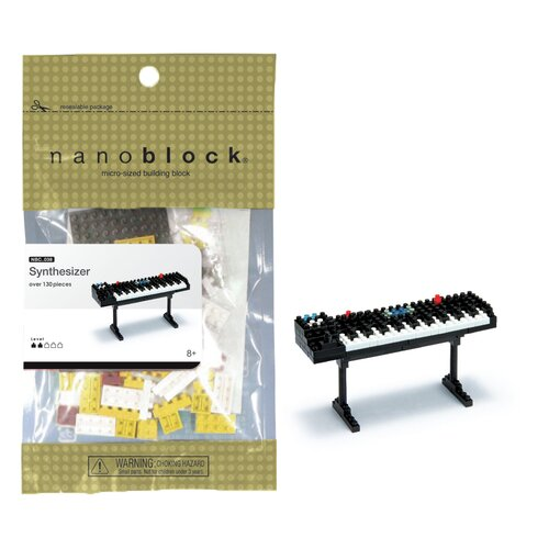 nanoblock Mini Plus Synthesizer Building Blocks