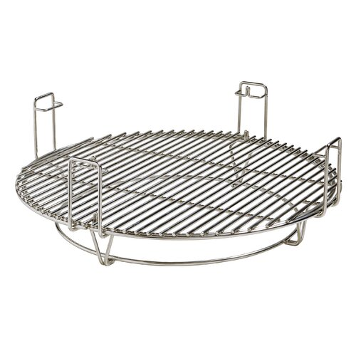 Kamado Joe ClassicJoe with Cart, Heat Deflector, & Side Shelves