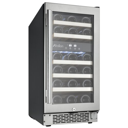 28 Bottle Dual Zone Wine Refrigerator