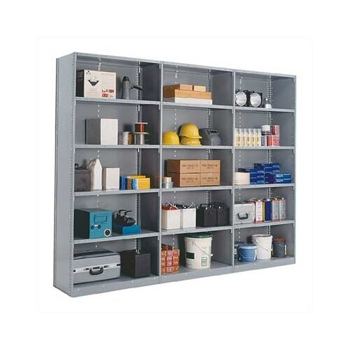 "Penco Closed Clipper Basic 87"" H 8 Shelf Shelving Unit Starter"