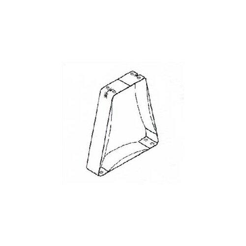 Penco Bench Pedestals - Stainless Steel Pedestal