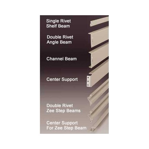 Penco RivetRite Parts - Double Rivet Zee Step Beams
