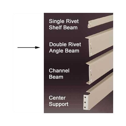 Penco RivetRite Parts - Standard Double Rivet Angle Beams