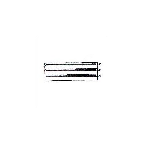 """Penco Clipper Specialty Shelving - Modular Drawer Kits for 36"""" Wide Clipper Shelving - 3 Drawers"""
