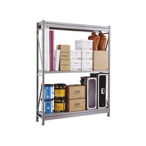 Penco Wide Span 2 Shelf Shelving Unit Starter