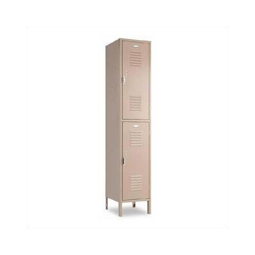Penco Vanguard 2 Tier 1 Wide Contemporary Locker