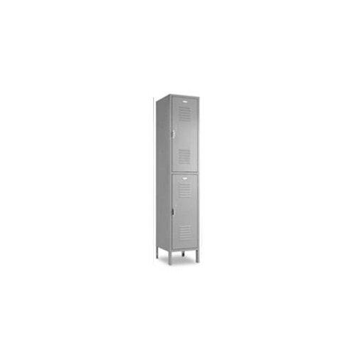 Penco Vanguard Double Tier 1 Wide Locker (Assembled)