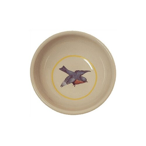 Bird Porcela Cat Bowl