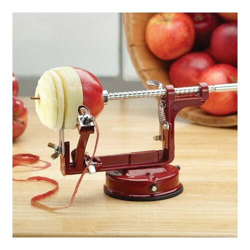 Above Edge Inc. 3 Piece Apple and Potato Peeler, Corer and Slicer