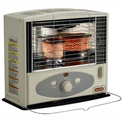 10,000-BTU Indoor Kerosene Powered Radiant Heater with Electronic Ignition