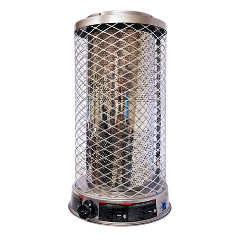 Portable 100,000-BTU Natural Gas Powered Radiant Heater