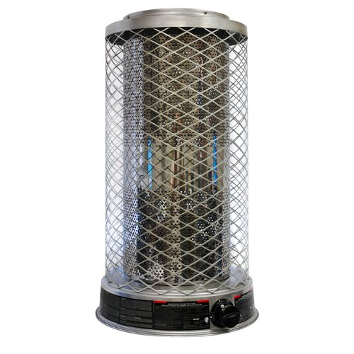 Portable 125,0000-BTU Propane Powered Radiant Heater