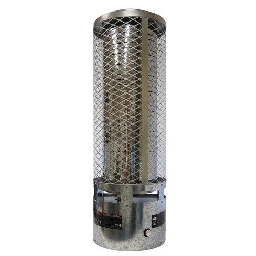 Portable 250,000-BTU Natural Gas Powered Radiant Heater
