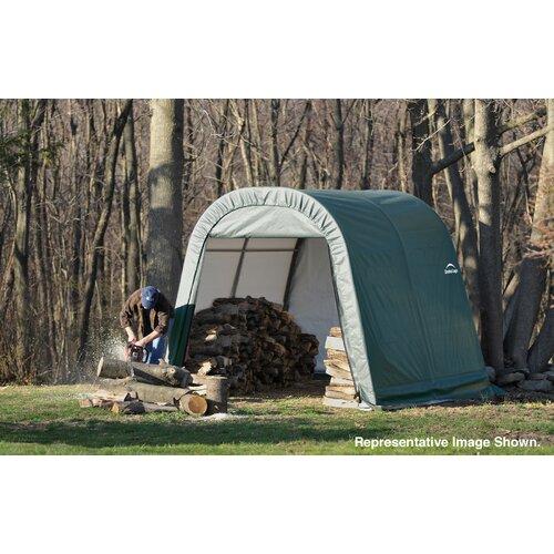ShelterLogic 11' x 8' x 10' Round Style Shelter