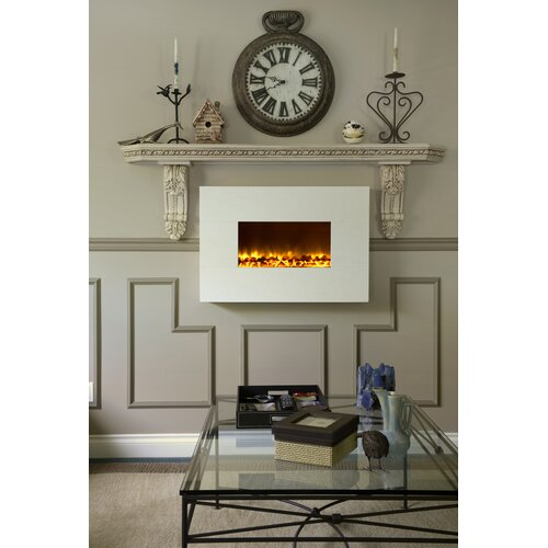 Dynasty Fireplaces Wall Mount Electric Fireplace