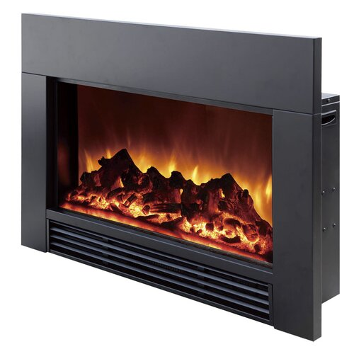 dynasty 30 quot electric fireplace insert reviews wayfair
