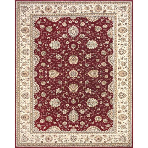 Daria Red / Cream Rug