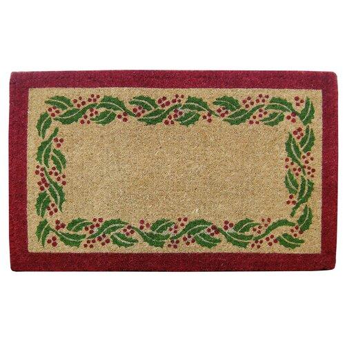 Holly Ivy Border Doormat