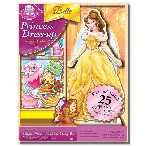 Belle Magnetic Wooden 25 Piece Doll Set