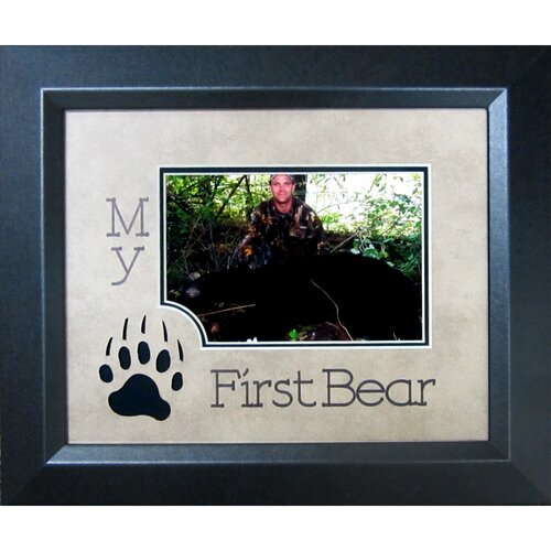 My First Bear Frame Photographic Print