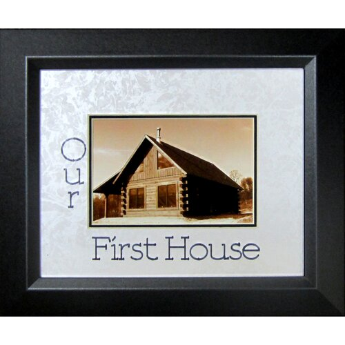 Our First House Frame Photographic Print