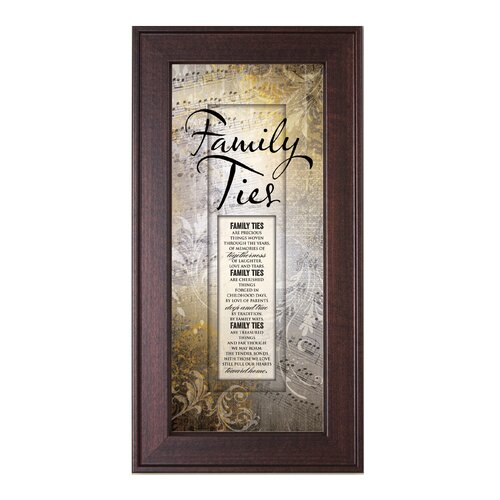 Family Ties Framed Graphic Art