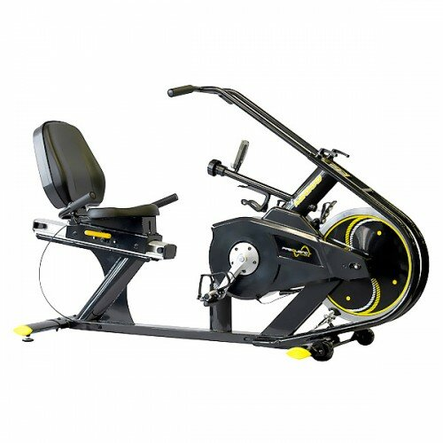 Unified Fitness Group Magnetic Recumbent Light Commercial Indoor Cycling Bike