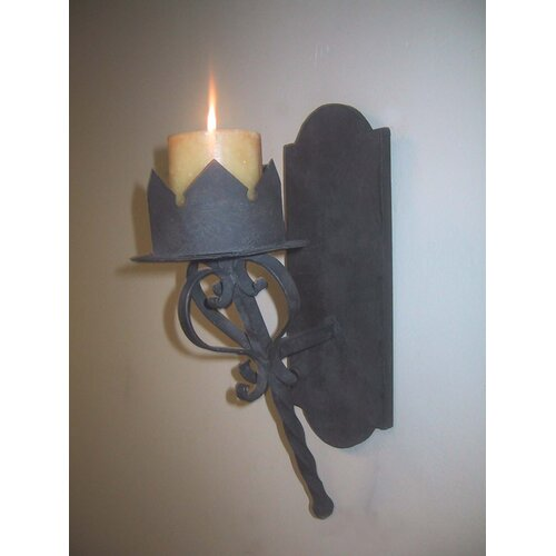 Gothic Wall Sconces: Laura Lee Designs Gothic Candle Wall Sconce & Reviews