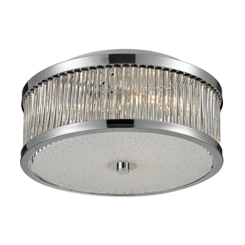Nulco Lighting Amersham Flush Mount